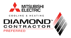 Mitsubishi Electric Diamond Contractor Preferred.